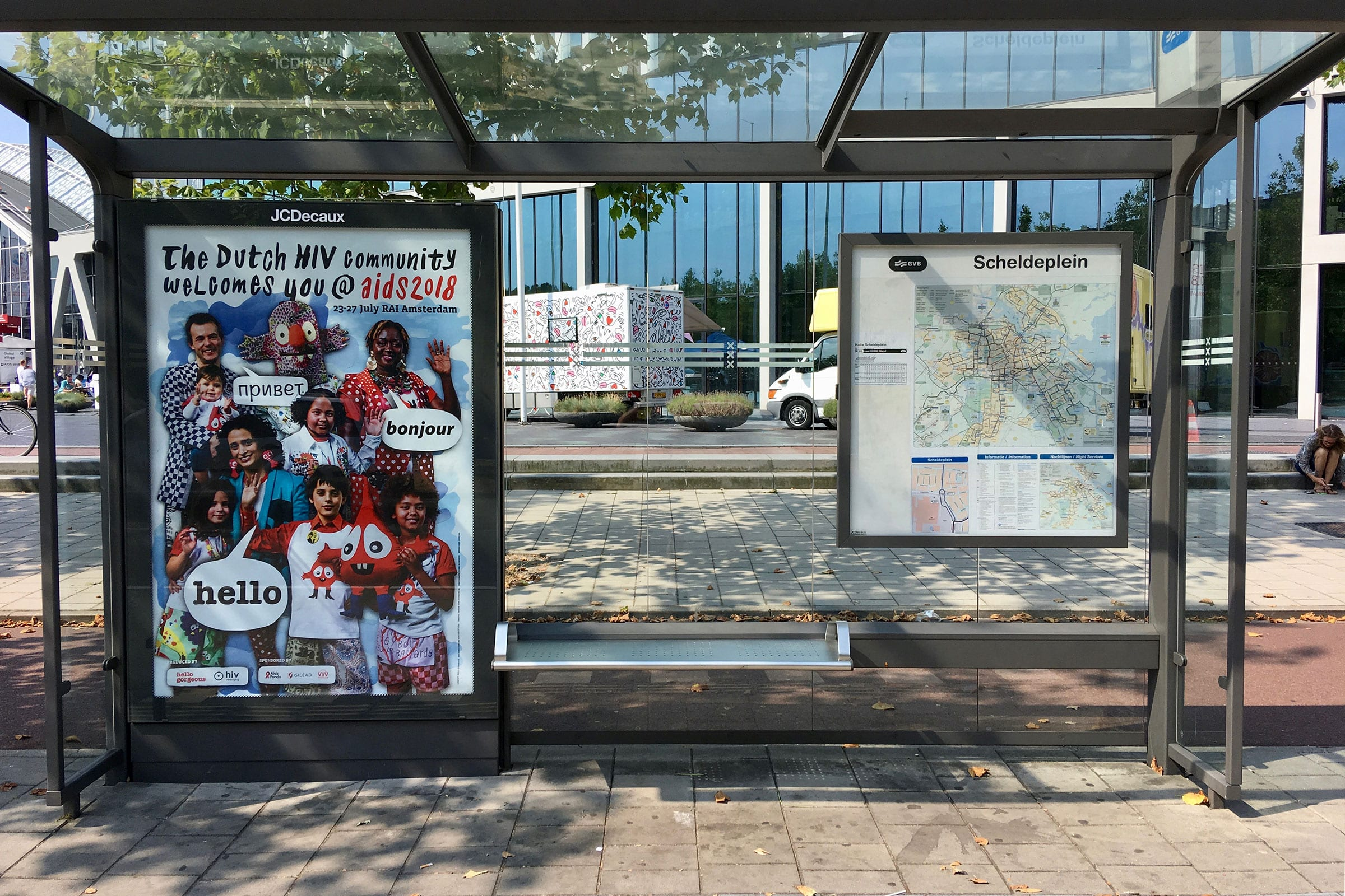 Gebr. Silvestri Positively Dutch – 'The Dutch HIV Community welcomes you @ Aids 2018'